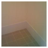 Bathroom skirting board painting