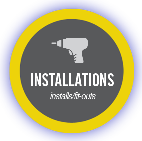 installations - installs/fit-outs